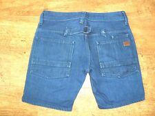 SHORT G-STAR jeans femme Taille basse  /FAEROES LOW TAPERED /28/38F PARFAIT ETAT