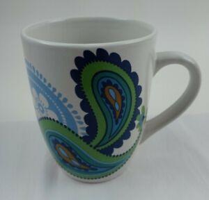 Royal Norfolk Paisley Coffee Tea Cups Mug