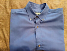 Paul Smith Jeans Mens Short Sleeve Shirt Blue Size M