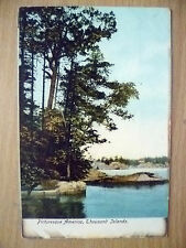 Postcard- PICTURESQUE AMERICA, THOUSAND ISLANDS, NY