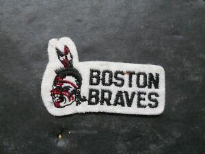 Vintage 1960's Boston Braves Jacket Patch