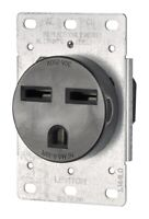 Leviton 05372-S00 Electrical Receptacle, 30 amps, 250 volts, Black