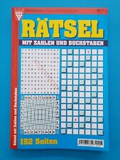 Kelter Rätsel mit Zahlen und Buchst.  Nr.7  192 Seiten NEU+unbenutzt 1A abs.TOP