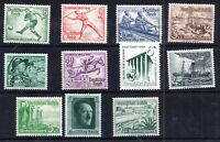 Germany 1936-39 mint MH collection Olympics etc good cat value WS10581