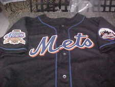NEW YORK METS AUTHENTIC RAWLINGS SIZE 44 JERSEY 2 PATCHES
