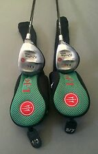 La Jolla Knife Junior 1/3 & 5/7 Woods 9-12 YEARS OLD Graphite Golf Clubs