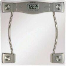 Precision One Life Care Clear Glass/Chrome Digital Scale Model 7831