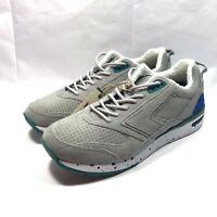New Brooks x Casual Industrees Fusion Grey Mens Running Shoes sz 9 (1101941d445)
