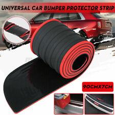 Gummi Auto Heckstoßstangenschutz Zierleiste Kofferraumschwellerschutz Kratzer
