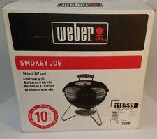 RARE WEBER SMOKEY JOE COPPER 1112999 BBQ GRILL 14in. New in box