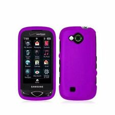 Hard Rubberized Case for Samsung Reality U820 - Purple