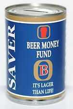 2x BEER Fund Savings Tin - STANDARD - Gifts for Men - Student Beer Holds £260