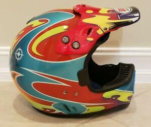 Vintage Jermey McGrath Showtime Bell Moto 6 Helmet