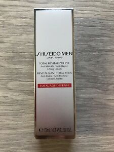 Shiseido Total Revitalizer Eye Cream For Men 0.53 oz/15ml NIB