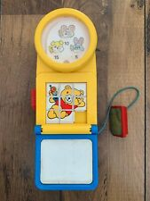 Vintage Baby Activity Game Toy 1991 Pat Toy Games Bunny Bear Phone Learning