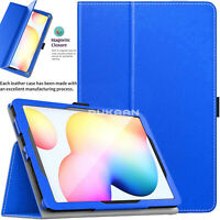 LEATHER Magnetic Flip Stand Case Cover For Samsung Galaxy S6 Lite 10.4 P610 P615