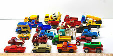 24 Vintage Toy Truck Mixed Lot Marx+Tonka+Buddy L Construction+Pickups+Ready Mix