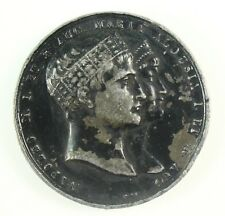 ! 1810 Napoleon I (1804-1814) & Marie-Louise of Parma Marriage Medal 43 mm, 40gr