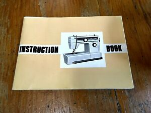 Vintage Janome Sewing Machine Instruction Book