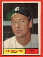 1961 Topps #429 Al Kaline EX/EX MARKED HOF Detroit Tigers FREE SHIPPING