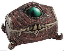 """Mimic"" Chest Dragon Eye Veronese Design New 7.25"" Trinket Box"