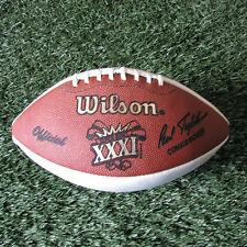 Super Bowl XXXI Commemorative Panel Football