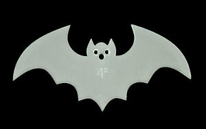 """AN ACRYLIC BAT SEWING/CRAFT TEMPLATE FROM 4"""""""