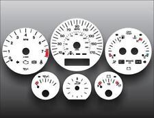 1998-2003 Jaguar XJ8 Dash Instrument Cluster White Face Gauges