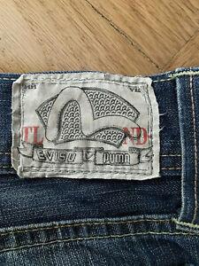 Äusserst rare Jeans Puma Evisu W32 L36 vintage regular - sehr lang, japanisch