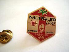 PINS RARE METRALEC JEUX OLYMPIQUE ALBERTVILLE 1992