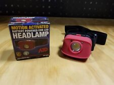 ATD Tools Motion Activated Battery Powered COB LED Headlamp 80251