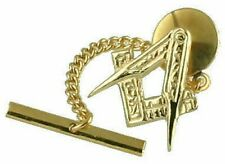 9Ct Masonic Gold Tie Tack