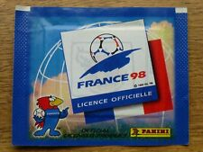 Panini France 98 World Cup Sealed Sticker Pack - SPAIN BADGE Top Sticker