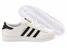 Scarpe Adidas Superstar J Sneakers Donna Junior Bianco Nero C77154