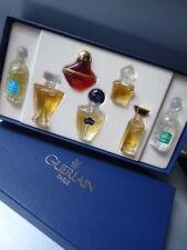 GUERLAIN New Box Vintage 1996 7 x Miniatures Gift Set SHALIMAR MITSOUKO SAMSARA