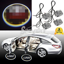 4x Laser Logo LED Car Door Step Ghost Shadow Courtesy Projector Light For TOYOTA