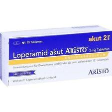 Loperamid akut Aristo 2 mg Tabletten 10 St