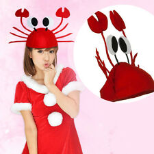 1Pc Funny Red Lobster Crab Sea Hat Fashion Headwear Party Prop Costume Accessory