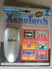 Oxford Xeno Ultra Bright Head Light With Bracket And Batteries