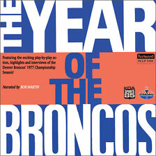1977 Denver Broncos  CD NEW The Year of the Broncos