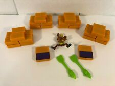 Hold On Scooby-Doo Board Game Replacement Parts Pieces Blocks Figure Arms