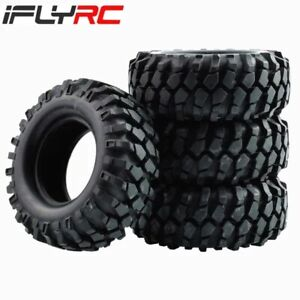 """1.9"""" Rubber Crawler Tires Tyres Wheel OD 96mm for Tamiya Axial SCX10"""