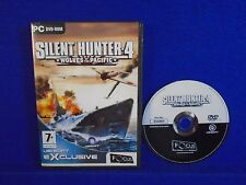 *PC SILENT HUNTER 4 Wolves of the Pacific (NI) REGION FREE Windows 7 8 10