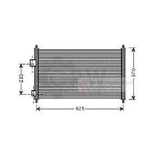 Kondensator Klimaanlage Klimakondensator für Honda Civic VII Stufenheck ES