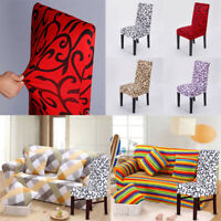 Decor Spandex Stretch Banquet Dining Slip Stool Seat Chair Cover Slipcover New