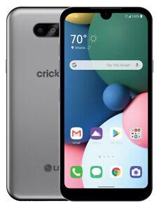 LG Fortune 3 LMK300AM - 16GB - Silver (Cricket Wireless) (Single SIM)