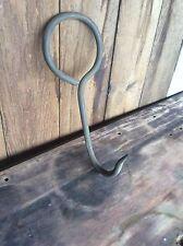 Vintage Metal Meat Hook , Handmade , Butchers Shop ,