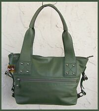 Barr & Barr LEATHER Satchel TOTE HandBAG Hang Tag Excellent Condition
