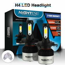 NIGHTEYE H4 HB2 9003 Car LED Headlight 72W 9000LM 6500K White Beam Lamp AU Ship