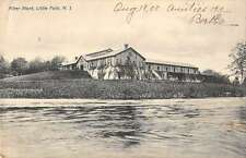 Little Falls New Jersey Filter Plant Waterfront Antique Postcard K30947
